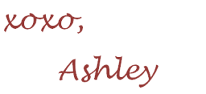 xoxo ashley